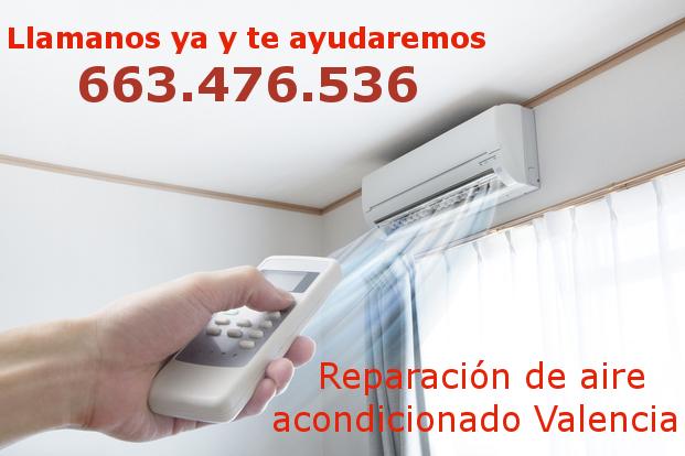 reparación aire acondicionado Valencia
