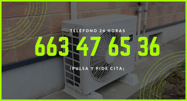 reparacion aire acondicionado calle Requena