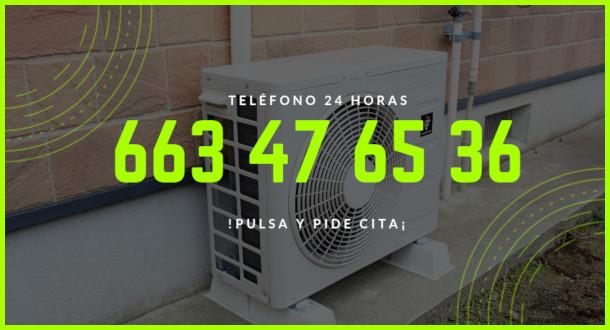 reparacion aire acondicionado calle Campoamor
